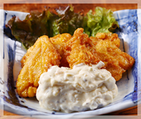 四万十鶏もも肉のチキン南蛮
