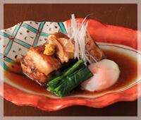 四万十米豚バラ肉の角煮
