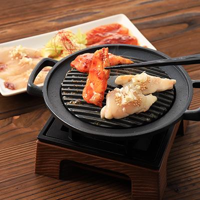 高知県産 ふぐ焼き(辛みジャン&塩ダレ 2つのお味お楽しみ頂けます)
