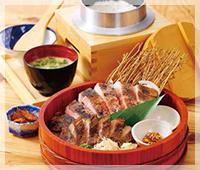 四万十米豚のわら燻り焼き定食
